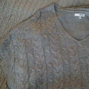 Cable knit sweater vest plus size - Sonoma sz XL